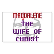 Mary Magdalene Rectangle Decal