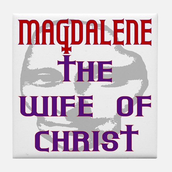 Mary Magdalene Tile Coaster