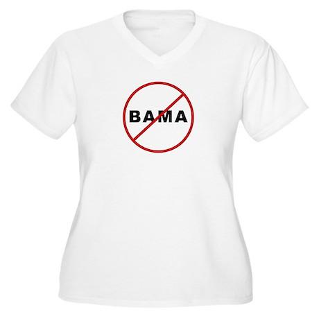 No Alabama Crimson Tide - Women's Plus Size V-Neck