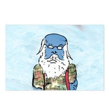 Cute Kris kringle Postcards (Package of 8)