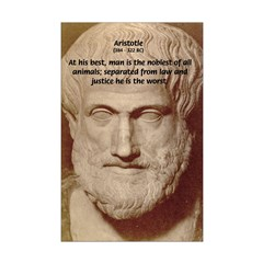 Greek Philosophers: Aristotle Posters