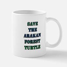 Save the Arakan Forest Turtle Mug