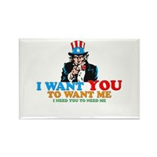 I WANT YOU Rectangle Magnet
