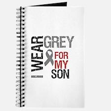 I Wear Grey Son Journal
