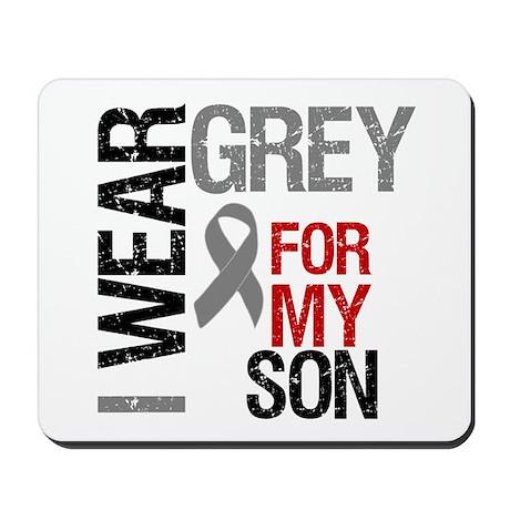 I Wear Grey Son Mousepad