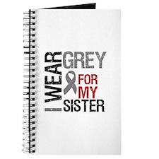 I Wear Grey (Sister) Journal