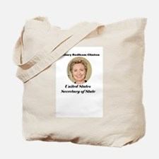 Hillary Rodham Clinton Secret Tote Bag