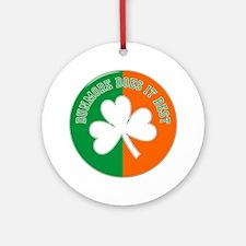 Dunmore Does Irish Best Ornament (Round)