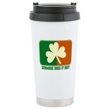 Luck of The Irish Travel Mug