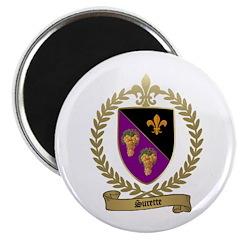"SURETTE Family Crest 2.25"" Magnet (100 pack)"