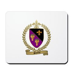 SURETTE Family Crest Mousepad