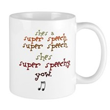 SUPER SPEECHY Small Mug