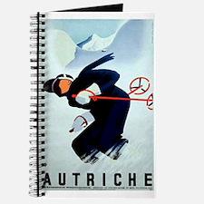 Austria Skiing Skier Journal