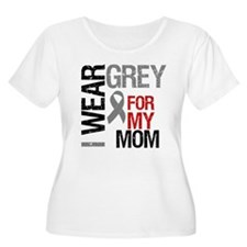 I Wear Grey Mom T-Shirt