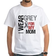 I Wear Grey Mom Shirt