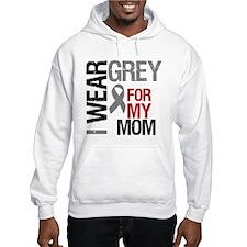 I Wear Grey Mom Hoodie