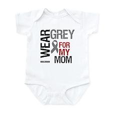 I Wear Grey Mom Infant Bodysuit