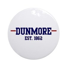 Dunmore 1862 Ornament (Round)