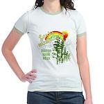 Forks Washington Twilight Jr. Ringer T-Shirt