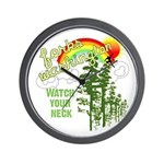 Forks Washington Twilight Wall Clock