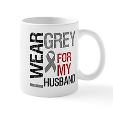 I Wear Grey Husband Mug
