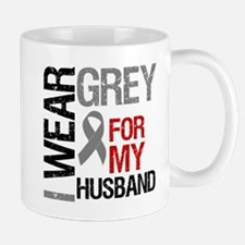 I Wear Grey Husband Mug