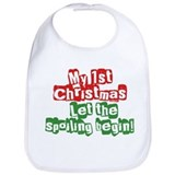 Christmas baby Cotton Bibs