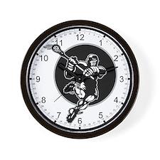 LAX Player Logo Wall Clock