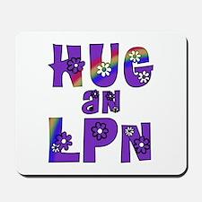 Hug An LPN Mousepad