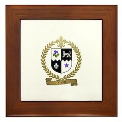 VIOLET Family Crest Framed Tile