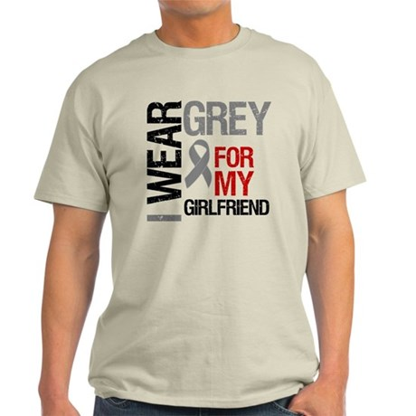 IWearGrey Girlfriend Light T-Shirt