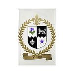 VIOLETTE Family Crest Rectangle Magnet (10 pack)