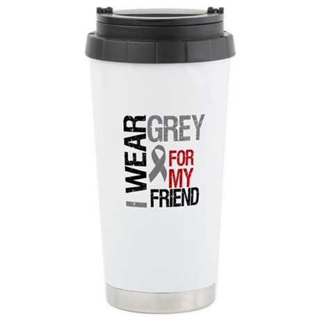 IWearGrey Friend Stainless Steel Travel Mug