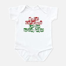 Infant Bodysuit 1st Christmas