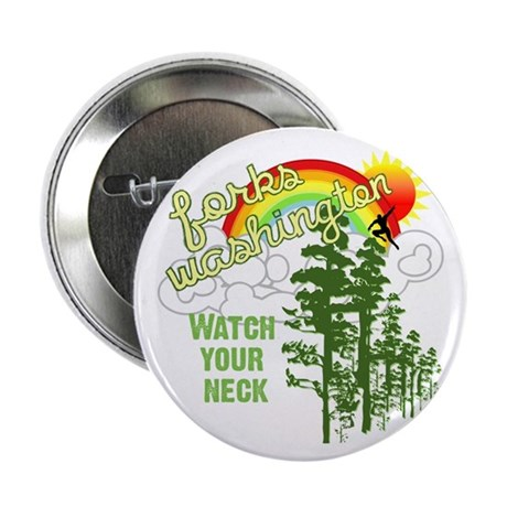 "Forks Washington Twilight 2.25"" Button (100 pack)"