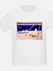 Bavarian Alps Skiing T-Shirt