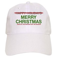 Baseball Cap Jesus Reason for Season