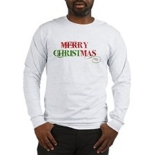 Long Sleeve T-Shirt Merry Christmas
