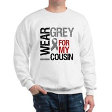 I Wear Grey Cousin Sweatshirt