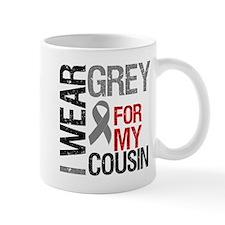 I Wear Grey Cousin Mug