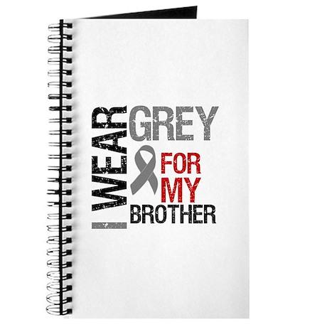 I Wear Grey Brother Journal