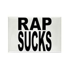 Rap Sucks Rectangle Magnet