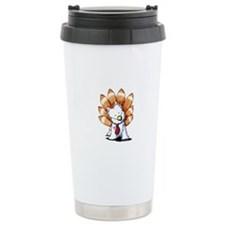 Thankful Turkey Westie Travel Mug
