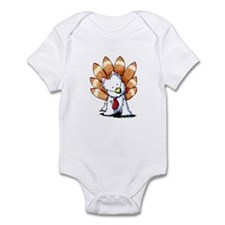 Thankful Turkey Westie Infant Bodysuit