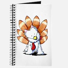 Thankful Turkey Westie Journal