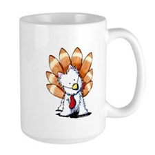 Thankful Turkey Westie Mug