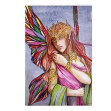 Moonlight fairy Postcards (Package of 8)