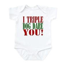 I Triple Dog Dare You! Infant Bodysuit