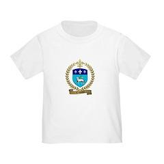 VILLEDIEU Family Crest T