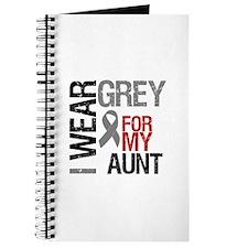 I Wear Grey Aunt Journal